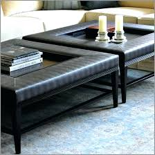 Ottoman With Table Large Ottoman As Coffee Tables Etechconsulting Co