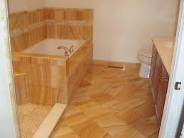 bathroom tile flooring