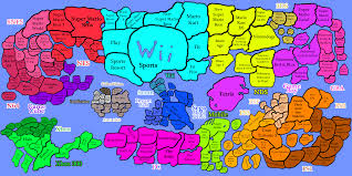Best World Map History And Map Of Best Selling Video Games