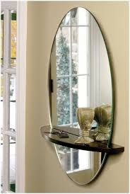 rotating shelf with mirror view in gallery minimal entryway mirror