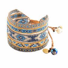 woman bracelet images Woman pearl bluemelange mishky bracelet jpg