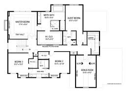 floor plans for a house craftsman house plan with 4 bedrooms and 3 5 baths plan 8993