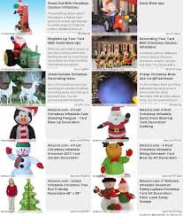 Blow Up Christmas Decorations Amazon by Cheap Christmas Blow Ups