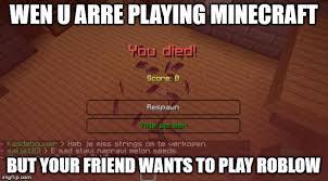 Memes Minecraft - minecraft memes imgflip
