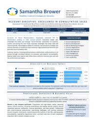 Account Executive Resume Sample by Executive Resume Samples U2014 Authentic Resume Branding