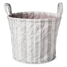 quilted storage bin trees cloud island gray target