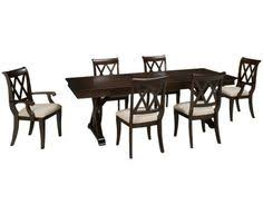 legacy classic brownstone village 7 piece dining set remodeling