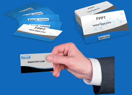 customizable business card clipart for powerpoint