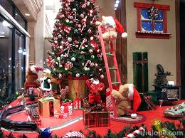 pleasing christmas decorations for retail displays strikingly