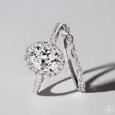 oval wedding rings best 25 oval halo engagement ring ideas on oval