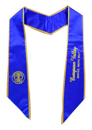 custom stoles custom stoles cap and gown whole sale