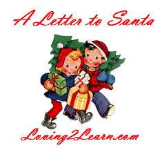 santa letter printable santa letter and writing ideas