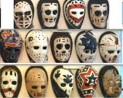 vintage masks vintage goalie masks creepy