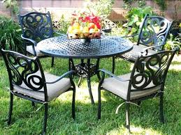 Iron Patio Table And Chairs Metal Patio Table Stunning Metal Patio Table Metal Patio Outdoor