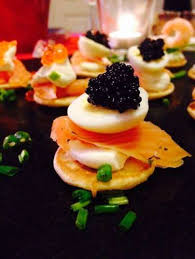 bellini canape s lemon and dill cheese for blini canapes recipe all