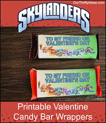 free skylanders valentine printable candy bar wrapper our