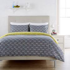 humming bird zebra charcoal grey single duvet cover set amazon co