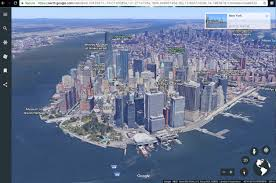 Google Maps New York City by New Google Earth Web Version Available Now My Google Map Blog