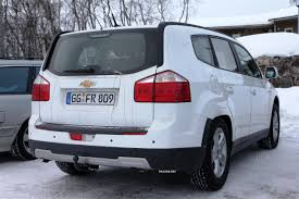 chevrolet captiva modified spied chevrolet hybrid mpv
