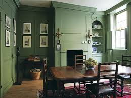 green dining room ideas chalke green farrow décoration verts
