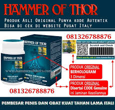 hammer of thor adalah obat kuat pria klg herbal