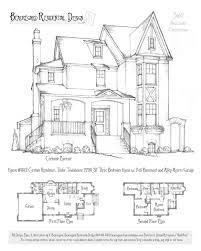 vintage victorian house plans 1873 print house home