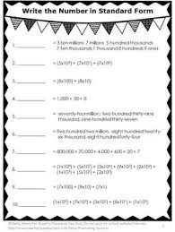 place value standard form worksheets die besten 25 expanded form worksheets ideen auf