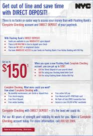 direct deposit card new york city employees and affiliates direct deposit program