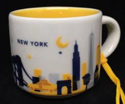 you are here ornament new york starbucks mugs