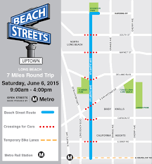 Map Of Long Beach Hitting The Beach Streets Of Long Beach The Source