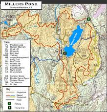 Stone Mountain Map Millers Pond Trail Map