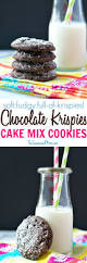 aunt bee u0027s chocolate krispies cake mix cookies the seasoned mom