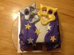 Halloween Cake Design Drama Masks Theater Cake Dorinda U0027s Cake Design Pinterest