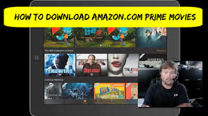 how to download amazon com prime movies youtube