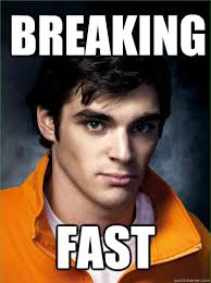 Fast Meme - breaking fast walt jr loves breakfast know your meme