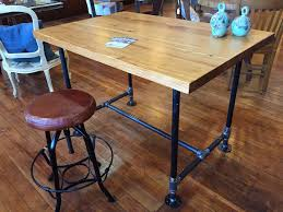 Industrial Work Table by Yellow Chair Market Industrial Work Table