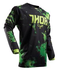 kids motocross gear closeouts thor youth pulse tydy jersey revzilla