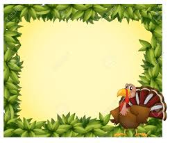thanksgiving clip art borders free illustration of a green border with a turkey on a white background