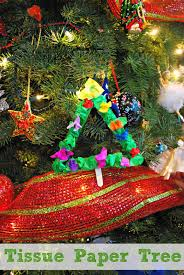 christmas crafts for kids cardboard tube christmas tree mess