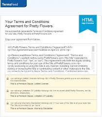 terms of use terms conditions template ecommerce how to guide