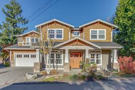 custom built craftsman style two story home in desirable west of