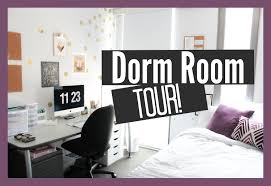 dorm room tour youtube