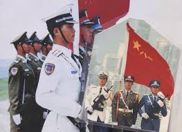Military Flag Case Glory Of A Lifetime Chinese Military Flag Bearer Remembers