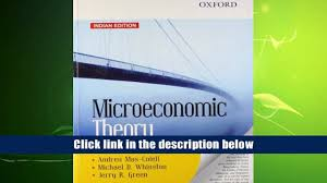 free download microeconomic theory andreu mas colell for ipad