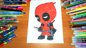 deadpool coloring pages kids colors superheroes coloring