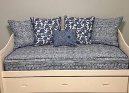 fitted daybed cover with cording piping in twin twin xl or full