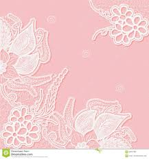 Sample Designs For Wedding Invitation Cards Lace Background With Space For Text Template Wedding Invitation