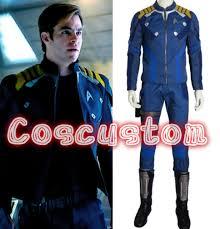 Star Trek Halloween Costume Coscustom Star Trek Captain Kirk Costume Star Trek Uniform