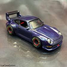lowered porsche 911 scaletunedcustomz u2014 custom 1 64 wheels 993 porsche 911 gt2