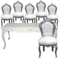 Esszimmer Set Ebay Essgruppen Aus Massivholz Barock Design Möbel Esszimmer Set 6